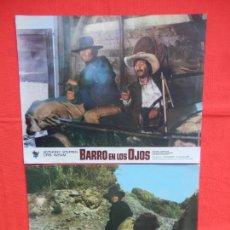 Cine: BARRO EN LOS OJOS, 10 FOTOCROMOS, COMPLETA, ANTHONY STEFFEN CRIS AVRAM, CIRE FILMS. Lote 79153501