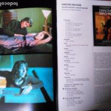 Cine: CINE . FOTOS - PELICULA - DANCING MACHINE - ALAIN DELON , CLAUDE BRASSERUR PATRICK DUPOND. Lote 83030036