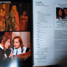 Cine: CINE . FOTOS - PELICULA - EL AVARO MIGUEL BOSE LAURA ANTONELLI LUCIA BOSE CHRISTOPHER LEE . Lote 83030268