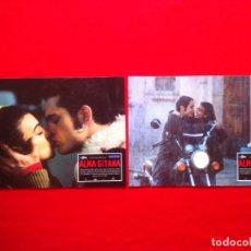 Cine: LOTE 2 FOTOCROMOS ALMA GITANA LOBBY CARD ¡¡¡ARTICULO COMPRA MINIMA 8 EUROS!!!. Lote 83624936