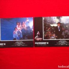 Cine: 2 FOTOCROMOS POLTERGEIST LOBBY CARD ¡¡¡ARTICULO COMPRA MINIMA 8 EUROS!!!. Lote 83630180