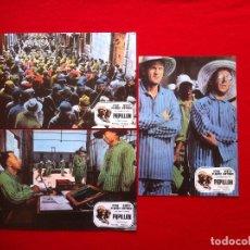 Cine: 3 FOTOCROMOS PAPILLON LOBBY CARD ¡¡¡ARTICULO COMPRA MINIMA 8 EUROS!!!. Lote 83630300