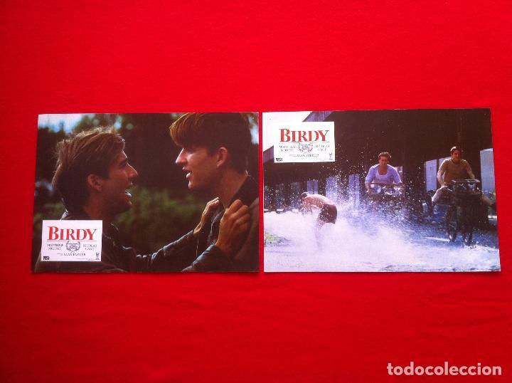 2 FOTOCROMOS BIRDY LOBBY CARD ¡¡¡ARTICULO COMPRA MINIMA 8 EUROS!!! (Cine - Fotos, Fotocromos y Postales de Películas)