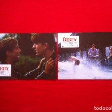 Cine: 2 FOTOCROMOS BIRDY LOBBY CARD ¡¡¡ARTICULO COMPRA MINIMA 8 EUROS!!!. Lote 83630412