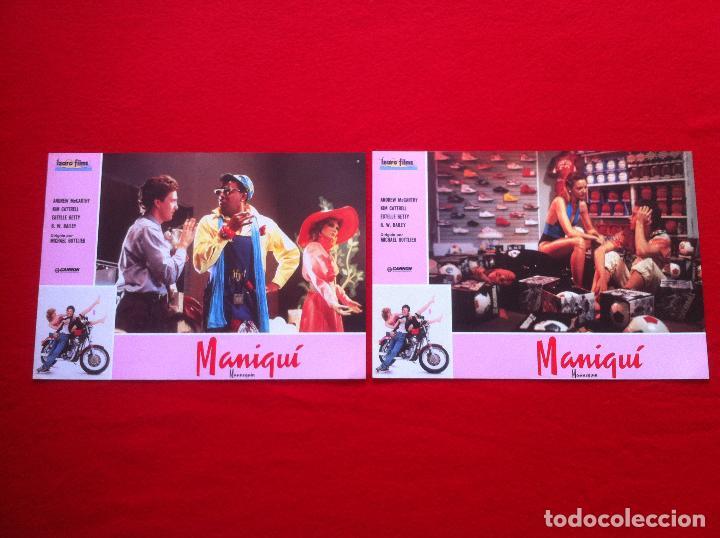 2 FOTOCROMOS MANIQUI LOBBY CARD ¡¡¡ARTICULO COMPRA MINIMA 8 EUROS!!! (Cine - Fotos, Fotocromos y Postales de Películas)