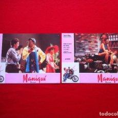 Cine: 2 FOTOCROMOS MANIQUI LOBBY CARD ¡¡¡ARTICULO COMPRA MINIMA 8 EUROS!!!. Lote 83630496