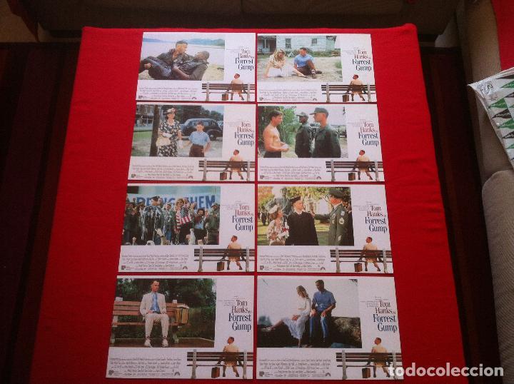8 FOTOCROMOS FORREST GUMP LOBBY CARD ¡¡¡ARTICULO COMPRA MINIMA 8 EUROS!!! (Cine - Fotos, Fotocromos y Postales de Películas)