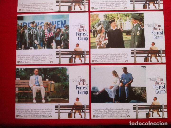 Cine: 8 Fotocromos FORREST GUMP lobby card ¡¡¡ARTICULO COMPRA MINIMA 8 EUROS!!! - Foto 2 - 83632304