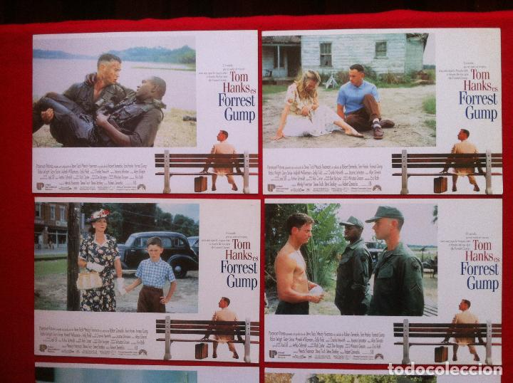 Cine: 8 Fotocromos FORREST GUMP lobby card ¡¡¡ARTICULO COMPRA MINIMA 8 EUROS!!! - Foto 3 - 83632304