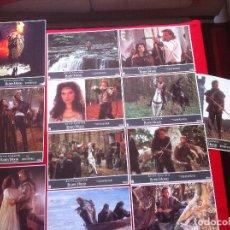 Cine: 12 FOTOCROMOS ROBIN HOOD EL PRINCIPE DE LOS LADRONES LOBBY CARD . Lote 83632968