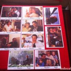 Cine: 10 FOTOCROMOS CUANDO UN HOMBRE AMA A UNA MUJER LOBBY CARD . Lote 83633300