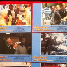 Cine: 7 FOTOCROMOS SUPERDETECTIVE EN HOLLYWOOD LOBBY CARD. Lote 83633756