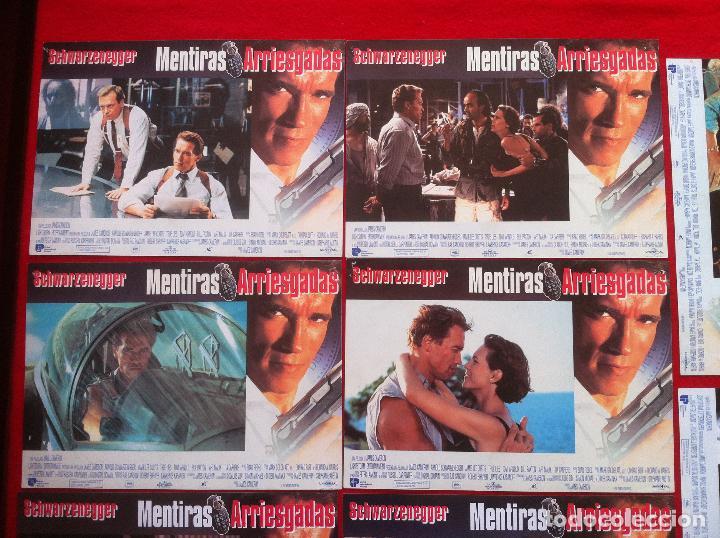 Cine: 8 Fotocromos MENTIRAS ARRIESGADAS lobby card - Foto 2 - 83633864