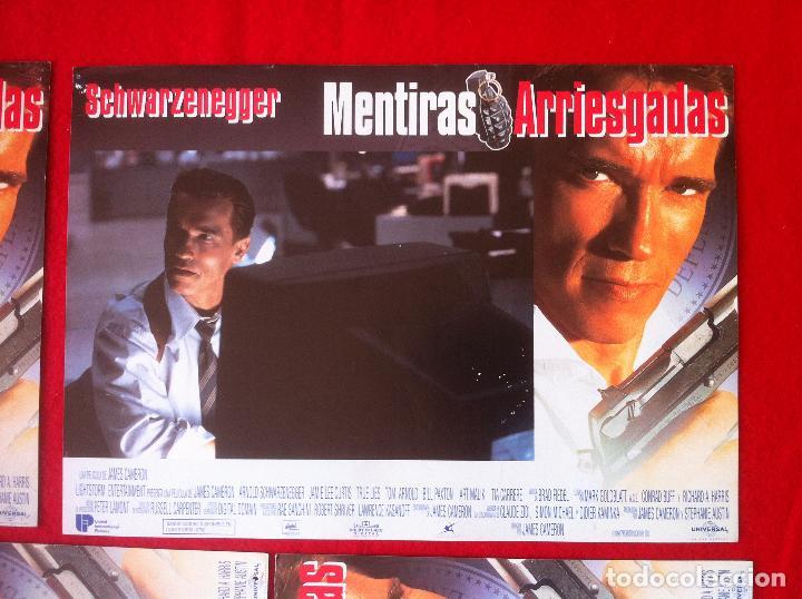 Cine: 8 Fotocromos MENTIRAS ARRIESGADAS lobby card - Foto 5 - 83633864