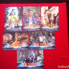 Cine: 6 FOTOCROMOS ACE VENTURA OPERACION AFRICA LOBBY CARD. Lote 83633992