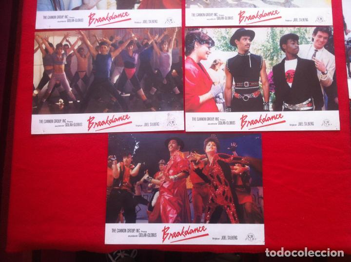 Cine: 10 Fotocromos BREAKDANCE lobby card - Foto 2 - 83634248
