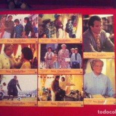 Cine: 8 FOTOCROMOS LA SEÑORA DOUBTFIRE LOBBY CARD ¡¡¡ARTICULO COMPRA MINIMA 8 EUROS!!!. Lote 83635260
