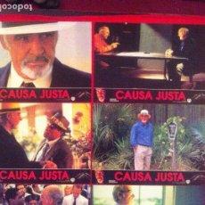 Cine: 8 FOTOCROMOS CAUSA JUSTA LOBBY CARD ¡¡¡ARTICULO COMPRA MINIMA 8 EUROS!!!. Lote 83636548