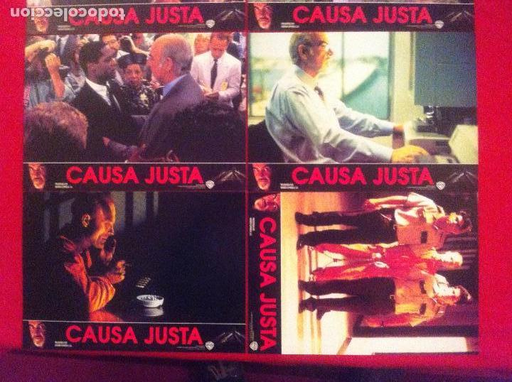 Cine: 8 Fotocromos CAUSA JUSTA lobby card ¡¡¡ARTICULO COMPRA MINIMA 8 EUROS!!! - Foto 2 - 83636548