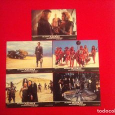 Cine: 5 FOTOCROMOS MAD MAX 3 LOBBY CARD . Lote 83637640