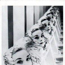 Cine: FOTO POSTAL AUDREY HEPBURN DE ERWIN BLUMENFELD IMPRESO EN FRANCIA PAR UNION PARIS 1984. Lote 36600546