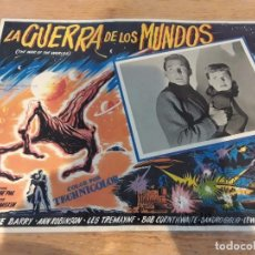 Cine: LOBBY CARD LA GUERRA DE LOS MUNDOS. Lote 85896028