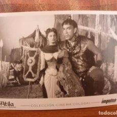 Cine: FOTO-POSTAL CINE-ATILA,HOMBRE O DEMONIO-1. Lote 86217352