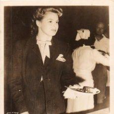 Cine: FOTOGRAFÍA ORIGINAL INGRID BERGMAN DE LA PELÍCULA SPELLBOUND ALFRED HITCHCOCK 1945. Lote 86518152