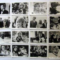 Cine: PROTOCOLO. 17 FOTOCROMOS ORIGINALES DE LA PELICULA. 24 X 18 CMS. HERBERT ROSS 1984. Lote 86696032