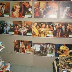 Cine: LAS NOCHES SECRETAS DE LUCRECIA BORGIA 11 FOTOCROMOS ORIGINALES B2(769). Lote 89379420