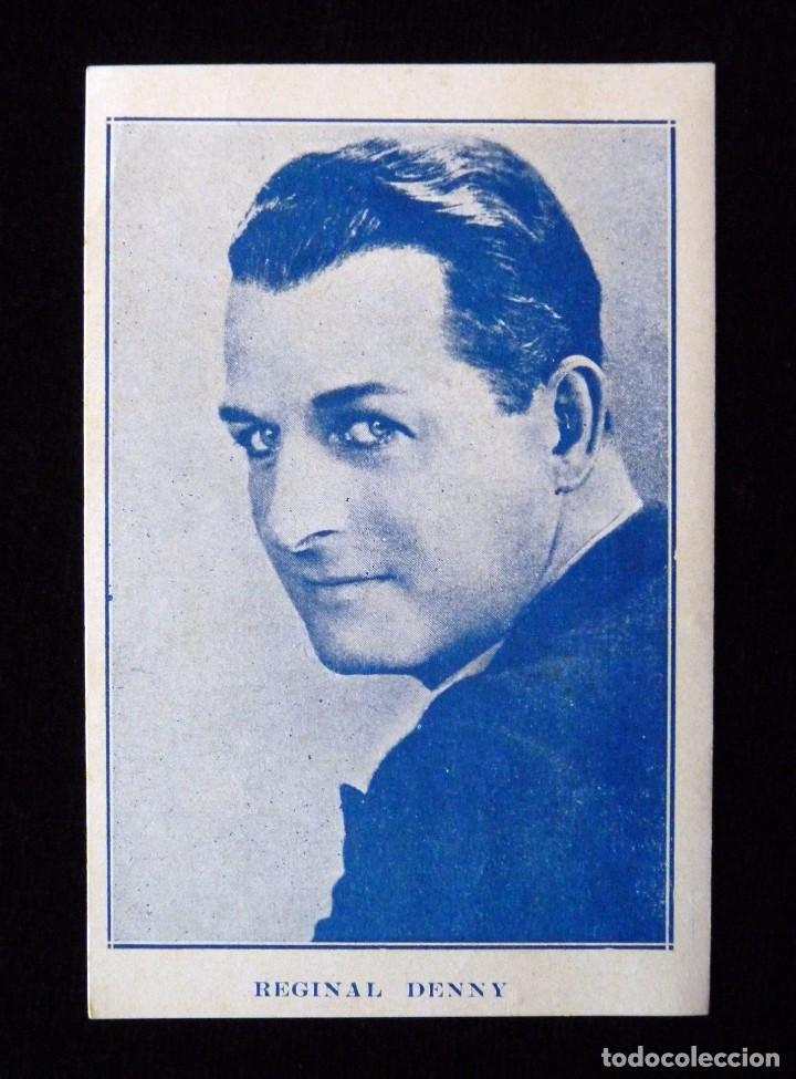ANTIGUA PUBLICIDAD CONDAL CINEMA. REGINAL DENNY. AÑOS 40 (PROVINCIA VALENCIA) (Cine - Fotos y Postales de Actores y Actrices)