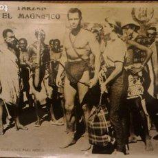 Cine: FOTO 24 X 18 CM - BYN BRILLNTE - FILME TARZAN EL MAGNIFICO (GORDON SCOTT) - ORIGINAL USA/ 1960 (2). Lote 90030896
