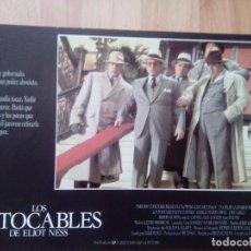 Cine: B- 12 FOTOCROMOS DE LA PELICULA LOS INTOCABLES DE ELIOT NESS. Lote 90137764