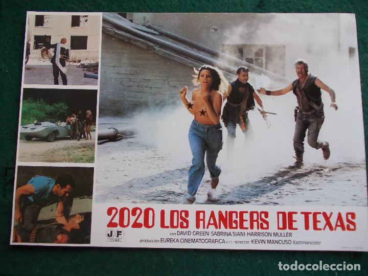 FOTOGRAMA O FOTOCROMO DE LA PELÍCULA 2020 LOS RANGERS DE TEXAS (Cine - Fotos, Fotocromos y Postales de Películas)