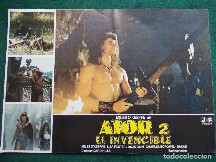 FOTOGRAMA O FOTOCRÓMO DE LA PELÍCULA ATOR 2 EL INVENCIBLE (Cine - Fotos, Fotocromos y Postales de Películas)