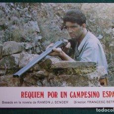 Cine: FOTOGRAMA O FOTOCRÓMO DE LA PELÍCULA REQUIÉN POR UN CAMPESINO ESPAÑOL. Lote 90422939