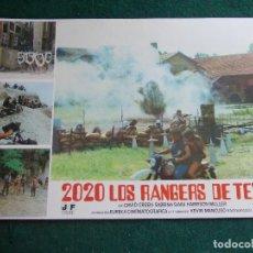 Cine: FOTOGRAMA O FOTOCROMO DE LA PELÍCULA 2020 LOS RANGERS DE TEXAS. Lote 90506330