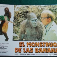Cine: FOTOGRAMA O FOTOCROMO DE LA PELÍCULA EL MONSTRUO DE LAS BANANAS. Lote 91068260