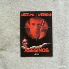 Cine: POSTAL ASESINOS. STALLONE. BANDERAS.. Lote 91632685
