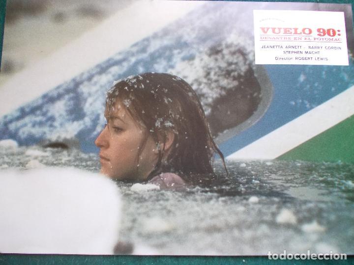FOTOGRAMA O FOTOCROMO DE LA PELÍCULA VUELO 90 (Cine - Fotos, Fotocromos y Postales de Películas)