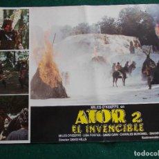 Cine: FOTOGRAMA O FOTOCROMO DE LA PELÍCULA ATOR 2 EL INVENCIBLE. Lote 91896795