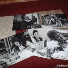 Cine: LOTE FOTOGRAFIAS ORIGINALES DALIDA. Lote 91955520