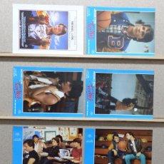 Cine: TEEN WOLF, MICHAEL J. FOX, AÑO 1985 - SET 8 FOTOCROMOS. Lote 92699520