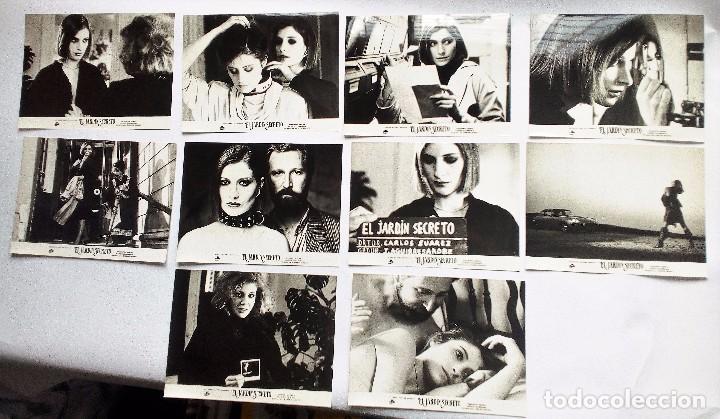 EL JARDÍN SECRETO (1984). SET 10 FOTOCROMOS; ASSUMPTA SERNA XABIER ELORRIAGA CECILIA (Cine - Fotos, Fotocromos y Postales de Películas)