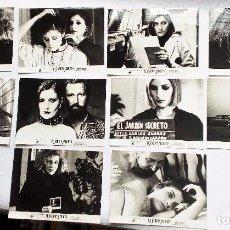 Cine: EL JARDÍN SECRETO (1984). SET 10 FOTOCROMOS; ASSUMPTA SERNA XABIER ELORRIAGA CECILIA. Lote 93638175