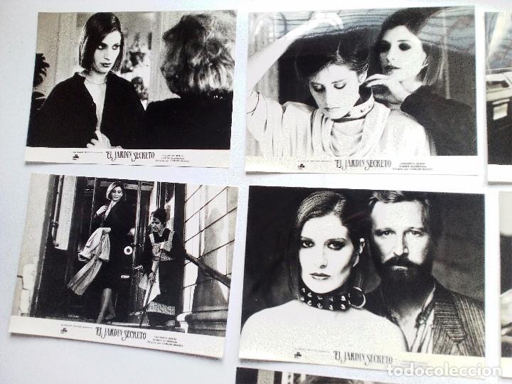 Cine: EL JARDÍN SECRETO (1984). SET 10 FOTOCROMOS; ASSUMPTA SERNA XABIER ELORRIAGA CECILIA - Foto 2 - 93638175