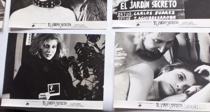 Cine: EL JARDÍN SECRETO (1984). SET 10 FOTOCROMOS; ASSUMPTA SERNA XABIER ELORRIAGA CECILIA - Foto 4 - 93638175