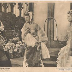 Cine: LA VIUDA ALEGRE THE MERRY WIDOW FOTO CARTELERA CINE PELICULA ORIGINAL METRO GOLDWYN MAYER 24 X 19,5 . Lote 93846775