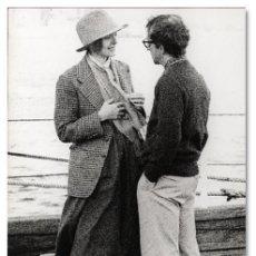 Cine: WOODY ALLEN + DIANE KEATON. FOTOGRAFÍA DE ESCENA PARA PRENSA: 'ANNIE HALL' - COPIA VINTAGE, 1977. Lote 94013575