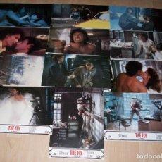 Cine: FOTOCROMOS. LA MOSCA. THE FLY. SET COMPLETO 12 FOTOCROMOS. 1986.. Lote 94865867